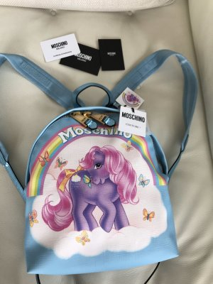 NEU Moschino Milano Couture Limited My little pony Rucksack Backpack Tasche