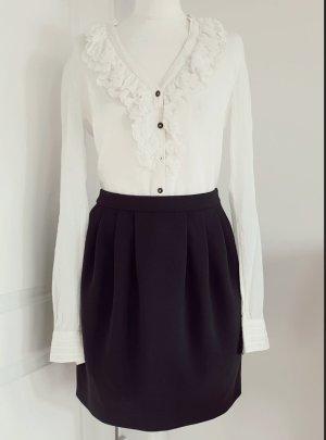 Boutique Moschino Plisowana spódnica czarny