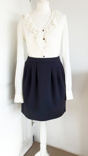 Boutique Moschino Plaid Skirt black