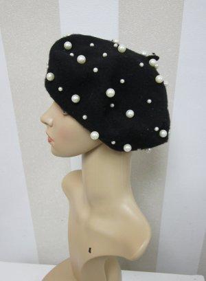 NEU Mütze mit Perlen Herbst Winter