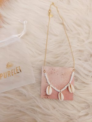 Purelei Shell Necklace gold-colored