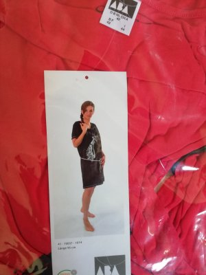 House-Frock black-red