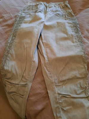 Tredy 7/8 Length Trousers grey cotton