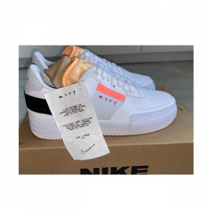 NEU Nike Air Force 1 Low Type Melon Tint Habanero Red White Soldout