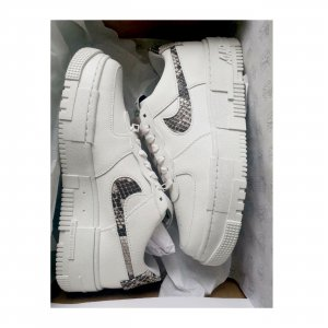 **NEU** Nike Air Force Pixel Snakeskin Soldout White