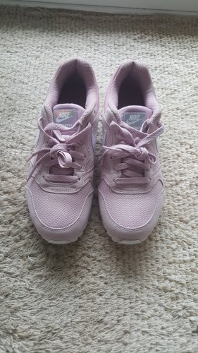 Nike Basket à lacet blanc-or rose