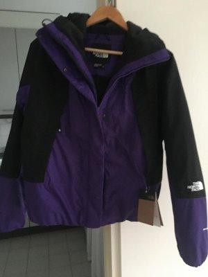 North Face Cortaviento negro-violeta oscuro