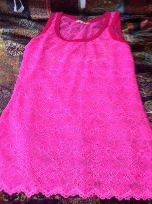 Northland Top de encaje rosa Viscosa