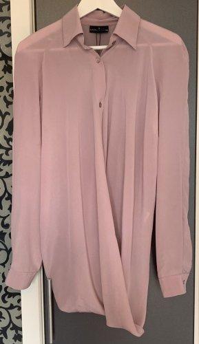 Neu NP 316€ European Culture Hemd Shirt Tunika Seidenbluse Top 34 S 36 M Bluse Seide