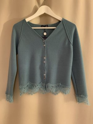 Neu NP 361€ Trussardi Wolle Kaschmir Pullover Spitze XS Wollpullover Pulli Designer Sweatshirt Shirt Top