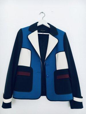 Neu - NP 699 -⚡️feiner ESCADA Blazer, hochwertige Qualität, Colour blocking, Wolle