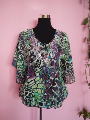 Miss H. Tunic multicolored polyester