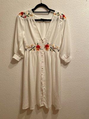Neu ohne Etikett! Sommerkleid/Kaftan, weiß, Gr. S/M