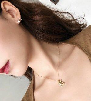 NEU!Ohrringe aus 925 Silber and Zirkonia