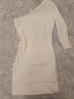 NEU One-shoulder bodenlanges tailliertes Kleid