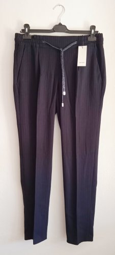 Opus 7/8 Length Trousers dark blue-cornflower blue