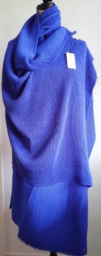 Opus Bufanda de punto azul-azul oscuro Acrílico