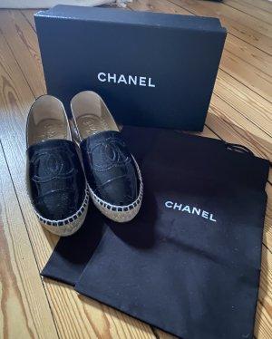 Chanel Espadrillas nero Pelle