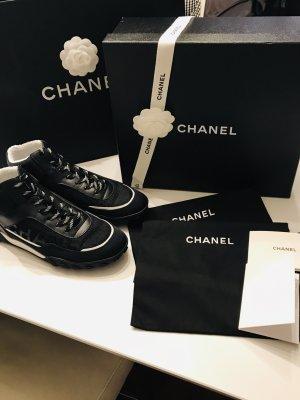 Neu! Orig. CHANEL Sneaker Gr. 38,5 (39), schwarz, Mod. 2019