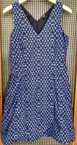 Aspesi Midi Dress blue-black