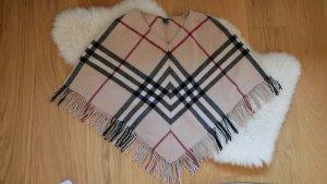Burberry Poncho multicolore laine