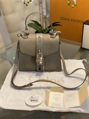 NEU ORIGINAL CHLOE HANDTASCHE Aby Shoulder Bag Leather