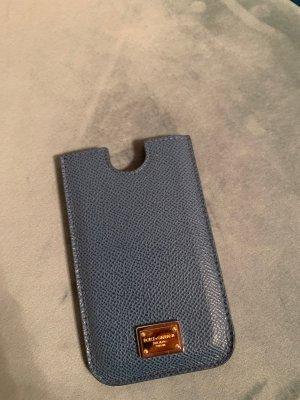 NEU Original Dolce & Gabbana Designer Case Hülle Iphone Handyhülle Leder