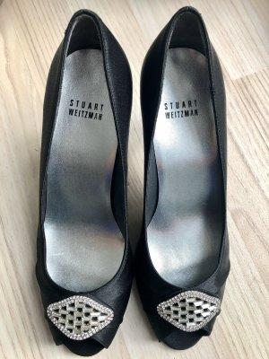 Neu Original Stuart Weitzman Peeptoe High Heels