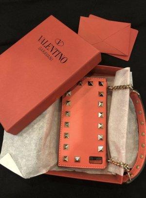 Neu Original Valentino Garavani Leder iphone case leder tasche rockstud