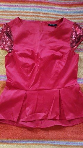 Orsay Peplum top rood