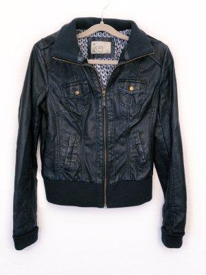 Neu Orsay Jacke Lederjacke Bikerjacke Sommer dunkelblau Größe S Damen Neu 49,99€