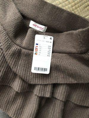 Orsay Broomstick Skirt grey brown