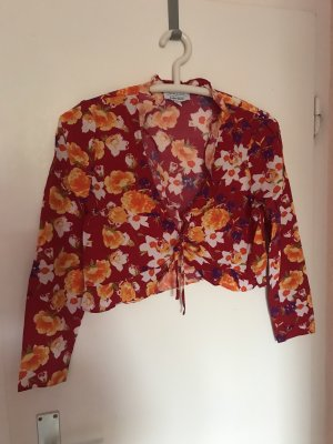 Neu & Other Stories Bluse S/36 rot mit Blumen