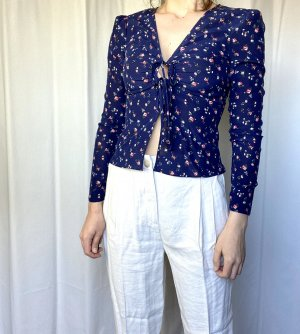 Neu! & other stories Seidenbluse French Street Style Blogger Cosy Trend Floral 100% Seide