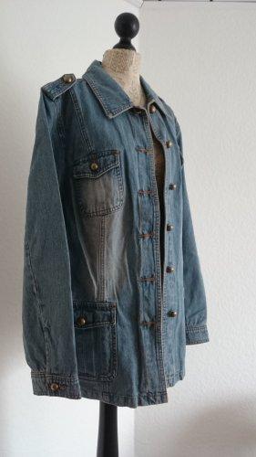 NEU! Oversize Jeansjacke von Maxime, Größe 48, NP 159 Euro
