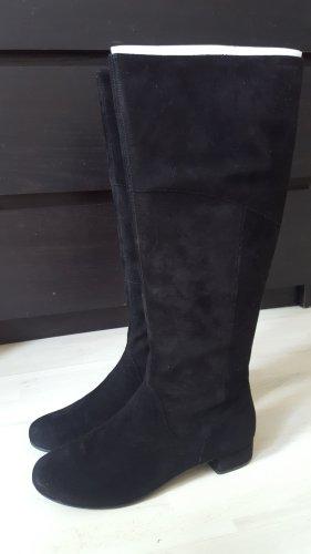 Neu OVP Vagabond Leder Stiefel Veloursleder 38 schwarz