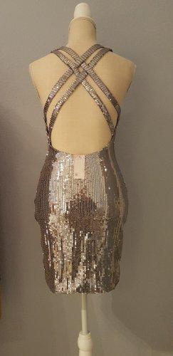NEU PAILLETTEN PARTY Girl Dress Kleid Glizer Feier EXTREM SEXY