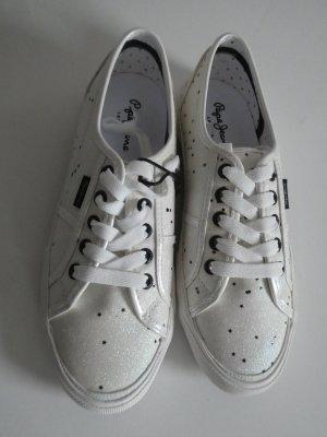 NEU – Pepe Jeans – Aberlady Stars PLS30817, Damen Sneaker low