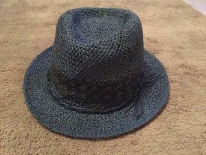 Pepe Jeans Chapeau de paille bleu-taupe