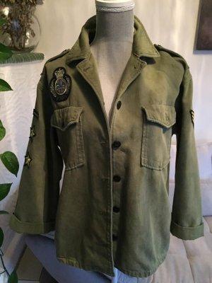 Pepe Jeans Veste militaire multicolore coton