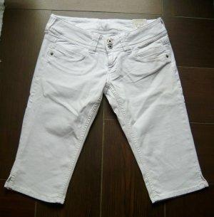 NEU Pepe Jeans weiß Gr 31 3/4 lang knielang entspr. GR 42 Capri Jeans