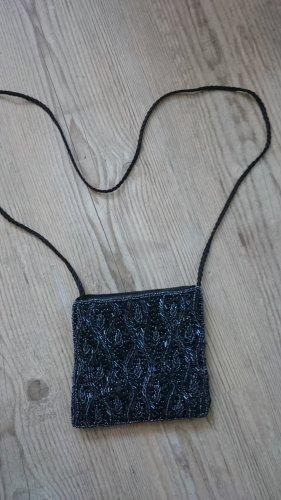Neu! Perlenbestickte Tasche mit Magnetverschluss