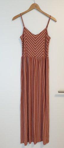 *Neu* pieces Maxikleid Kleid S 36 weiß rot