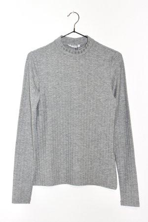 Neu Pieces Pullover Shirt in grau Größe M