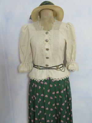 True Vintage Traditional Blouse multicolored linen