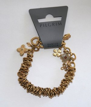 NEU Pilgrim Armband Bettelarmband gold – Ostergeschenk