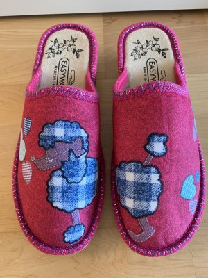 NEU | Pinke Pantoffel mit Pudel