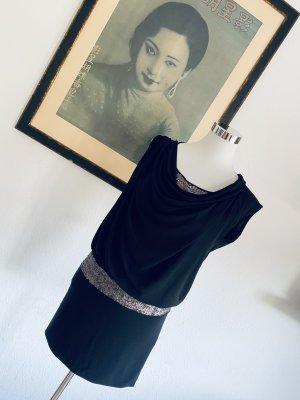 Pinko Suknia wieczorowa czarny-srebrny