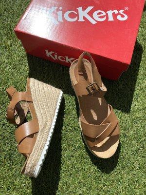 Kickers Plateauzool sandalen veelkleurig