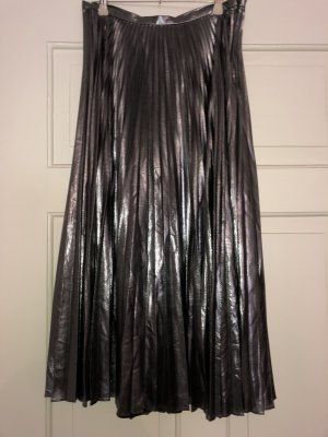 Ralph Lauren Pleated Skirt silver-colored